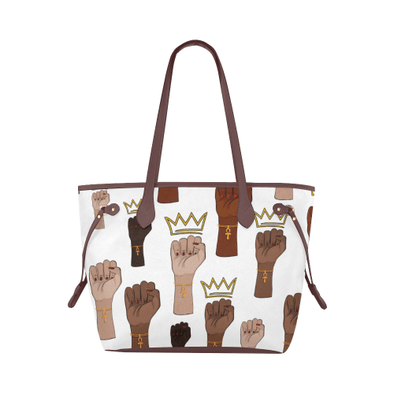 Queens Stand Up! Clover Canvas Tote Bag - Reflections By Zana