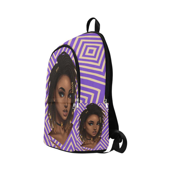 Royal Loc's Goddess Purple Backpack