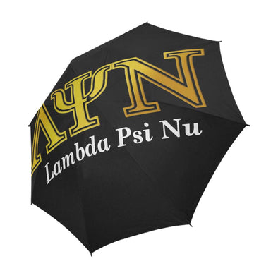 Lambda Psi Nu LPN Black Umbrella - Reflections By Zana