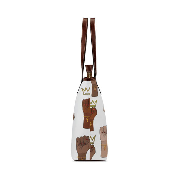 Queens Stand Up XL Shoulder Tote Bag