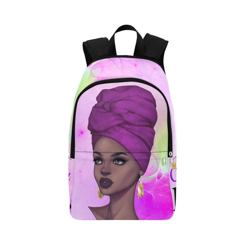 Queen BE. Zara Purple Backpack