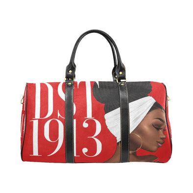 DST LUXE Loc'd Bun Waterproof Travel Bag *2 Sizes* - Reflections By Zana