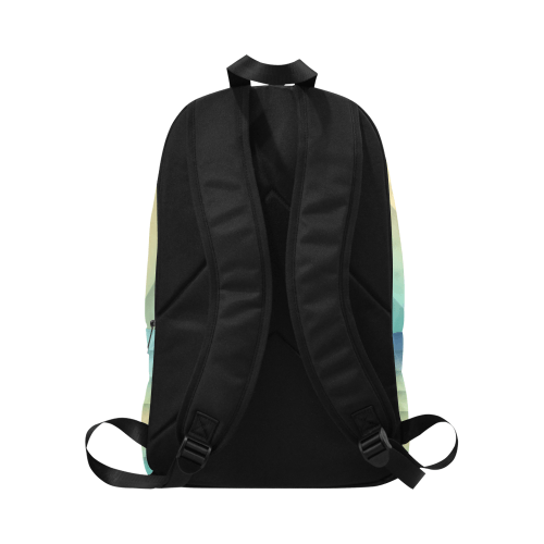 Loc'd Bun Aqua Backpack - Reflections By Zana