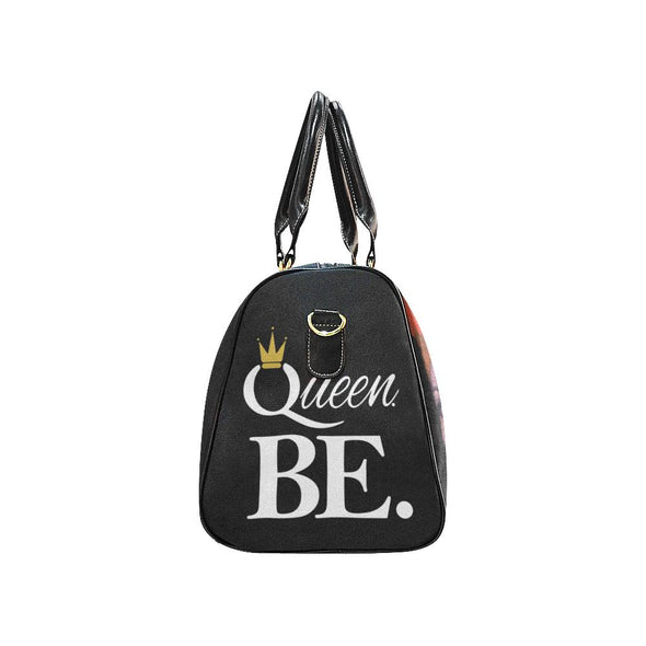 Black and Regal RBG & Y Queen BE. Queen Zara Travel Bag - Reflections By Zana