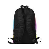'Artistic Z' Multicolored Youth Backpack - Reflections By Zana
