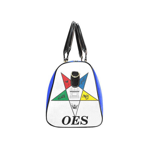 OES Travel Bag Large Blue Duffel - Reflections By Zana