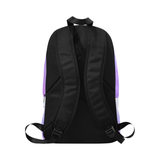 Regal Diva Purple Backpack - Reflections By Zana