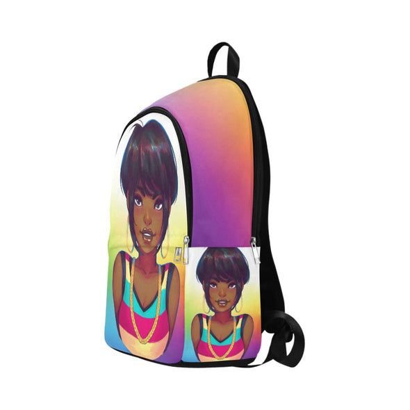 90's Girl Throwback Backpack - Reflections By Zana