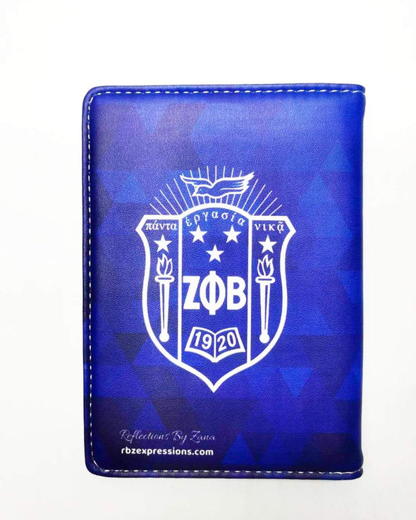 Zeta Phi Beta Passport Cover