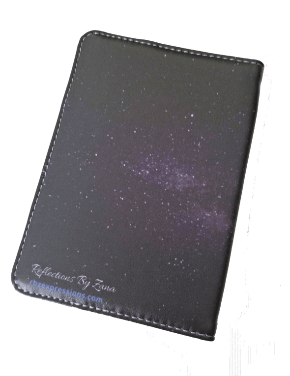Hip-Hop Themed Passport Cover--Tupac Shakur - Reflections By Zana