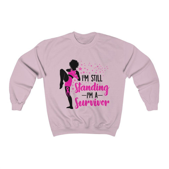 Breast Canver Survivor Unisex Heavy Blend™ Crewneck Sweatshirt