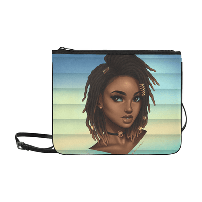 Loc'd Goddess Slim Clutch