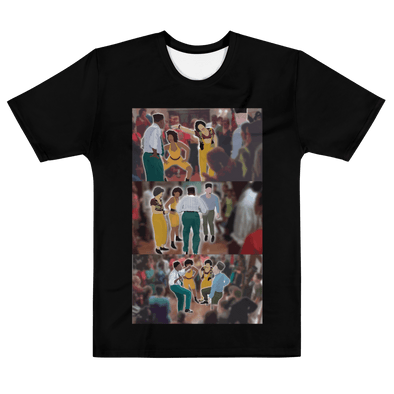 Men's 90s Movie Tee Tribute House Party Fan Art - Reflections By Zana