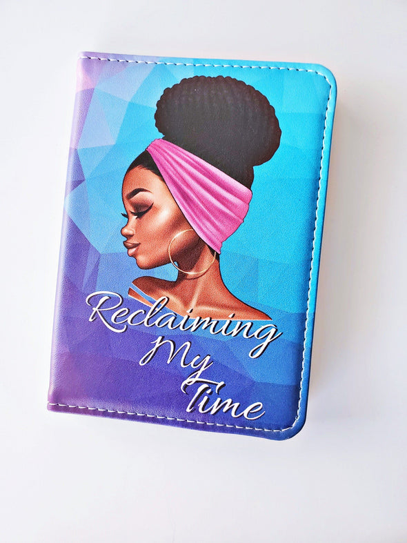 Reclaiming My Time Luggage Strap AND Passport Cover