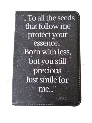 Hip-Hop Themed Passport Cover--Tupac Shakur
