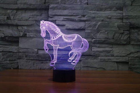Lampe Cheval fantaisie
