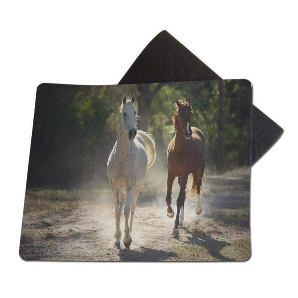 [-70%] Tapis de souris Photo d'art Chevaux