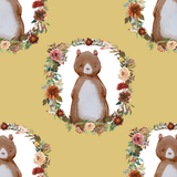 Woodland Bears in Honey