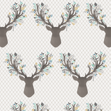 Going Stag In Aspen Crib Sheets & Change Pad Covers - Sweet Little Baby Cakes