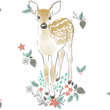 Fawn in Winter Blanket - Sweet Little Baby Cakes