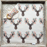 Going Stag Baby Girl Security Blanket - Sweet Little Baby Cakes