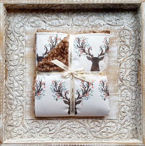 Going Stag in Winter Blanket - Sweet Little Baby Cakes