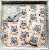 Fox & Fable Security Blanket - Sweet Little Baby Cakes