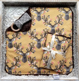 Stag Forest Security Blanket - Sweet Little Baby Cakes