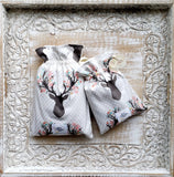 Going Stag In Tulip Crib Sheets & Change Pad Covers - Sweet Little Baby Cakes