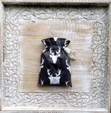 Stag Silhouette In Midnight Crib Sheets & Change Pad Covers - Sweet Little Baby Cakes