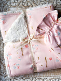 Rosemilk In Cameo Security Blanket - Sweet Little Baby Cakes