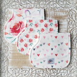Secret Admirer Bibs & Burp Cloths