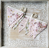 Sweet Nothings Fabric Bunting