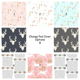 Change Pad Cover Options B - Sweet Little Baby Cakes