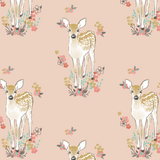 Fawn Burp Cloths In Shell - Sweet Little Baby Cakes