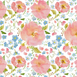 Briar Path Floral Crib Sheets & Change Pad Covers