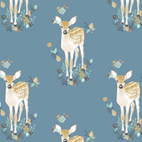 Fawn Burp Cloths In Marine - Sweet Little Baby Cakes