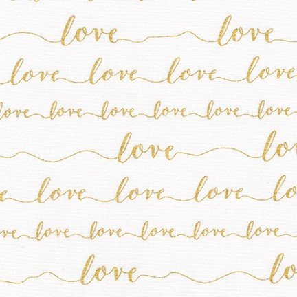 Metallic Love Crib Sheet - Sweet Little Baby Cakes