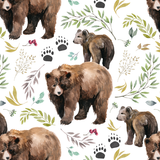 Mama Bear Security Blanket - Sweet Little Baby Cakes
