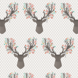 Stag In Tulip Change Pad Cover