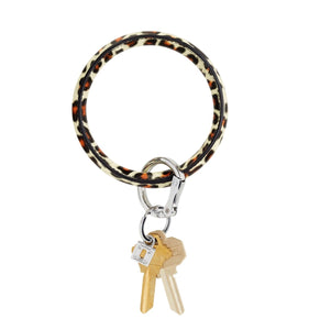 Big O Leather Key Ring - Cheetah