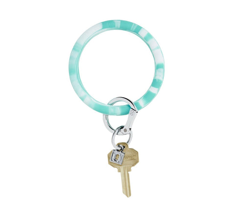 Silicone Key Ring - The Pool Marble