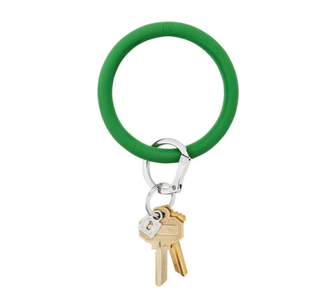 Silicone Key Ring - Shamrock