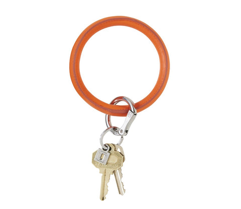 Vegan Key Ring - Orange Crush