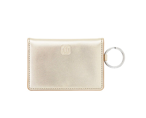 Leather ID Case - Gold Rush