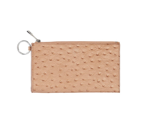 Leather Wallet - Ostrich