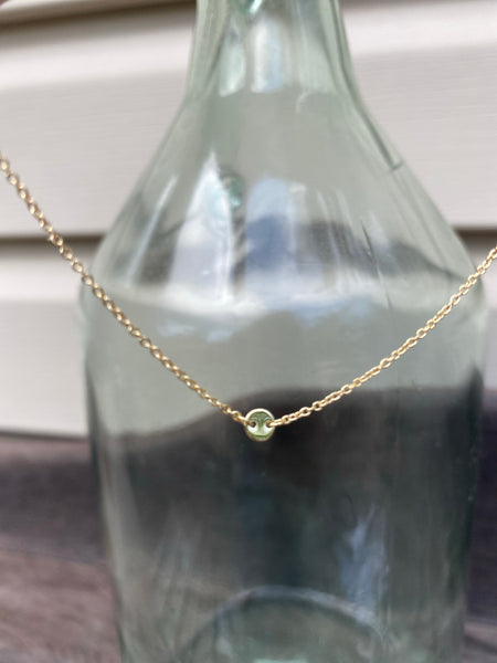 Little Moon Charm Necklace