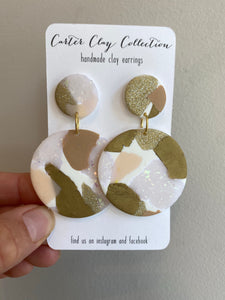 Neutral Slab Dangles {CarterClay Collection}