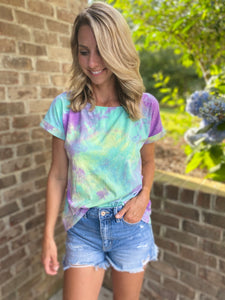 TieDye French Terry Top