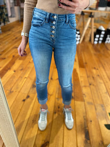 Gemma High Rise Skinny Straight